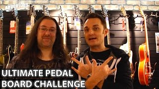 The Pointless Mini Pedal Board Challenge!!
