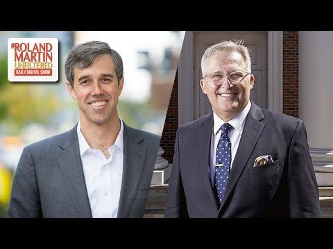 Congressman Beto O'Rourke, Pastor George Mason Stand Up For Botham Jean