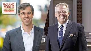 Congressman Beto O'Rourke, Pastor George Mason Stand Up For Botham Jean