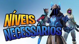 REQUIRED LEVELS FOR SEASON 7 SKINS-Fortnite Battle Royale