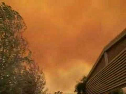 FIRE SKY - OCTOBER 2007 - CALIFORNIA FIRES