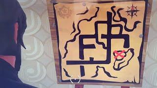 Fortnite Battle Royal - Suivre la carte au trésor trouvée à pleasant park (S4 Semaine7)