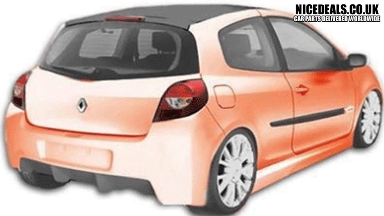 renault clio 05 on body kits sports bumpers fenders. Black Bedroom Furniture Sets. Home Design Ideas