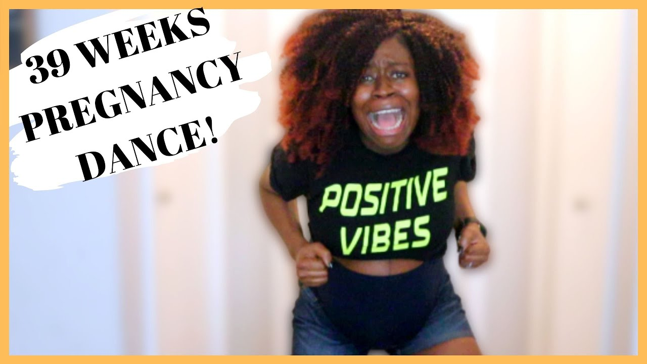 BABY MAMA DANCE @ 39 WEEKS PREGNANT | AFRICAN PRAISE EDITION (CONTRACTIONS STARTED AFTER!)