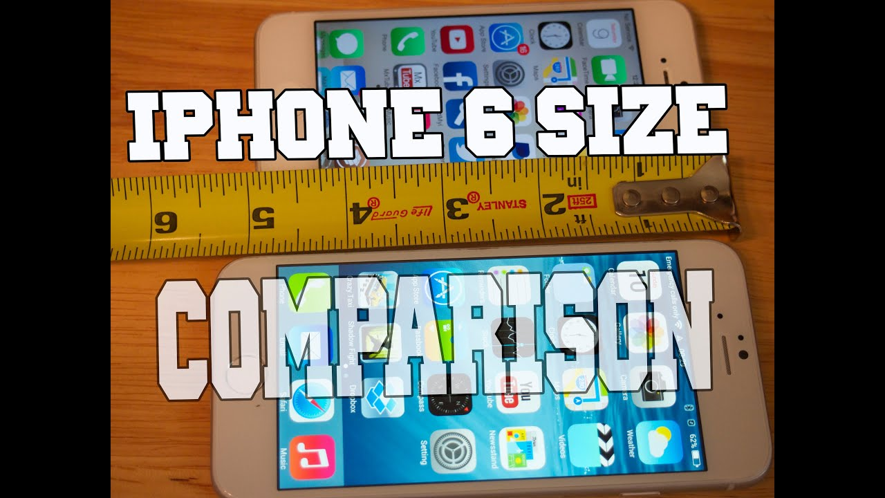 iphone size comparison iphone 6 clone comparison to iphone 5 size 12320