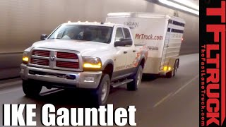 2016 Ram Power Wagon takes on the Extreme Ike Gauntlet Towing Review (Corrected)