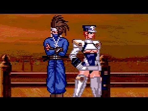 Groove on Fight (1997) Solis & Hizumi Playthrough (60 FPS) SEGA Saturn