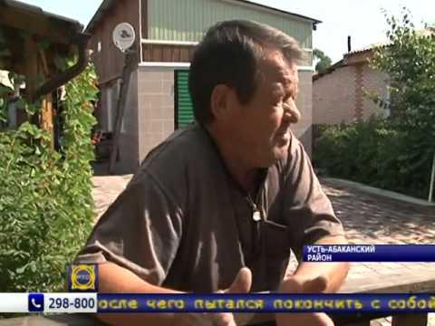 В селе Зелёное Усть-Абаканского района отец зверски зарезал родных детей