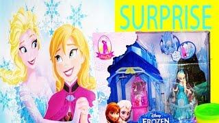 Queen Elsa FROZEN Disney Princess SURPRISE TOTE Play-Doh Fashems MLP Shopkins