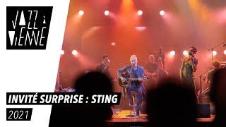 Invité surprise à Jazz à Vienne : Sting !