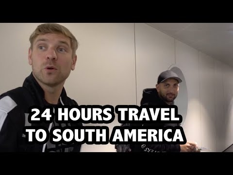 24 Hour travel to M.O.D CHILE   Business Class   VLOG #45