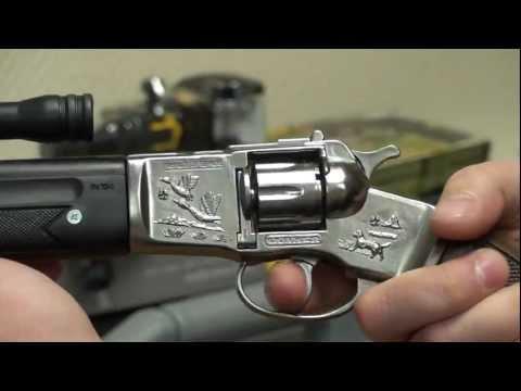 104/G детская винтовка игрушечная 8 пистонов Gonher