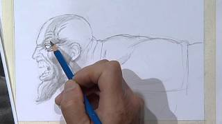 How to draw Kratos, god of war 2 / Kratos, Dios de la guerra 2