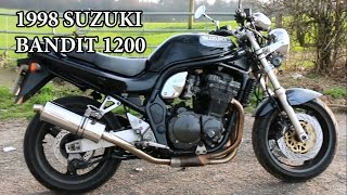 Video 1998 Suzuki Bandit GSF 1200 - Motorcycle Review download MP3, 3GP, MP4, WEBM, AVI, FLV September 2018