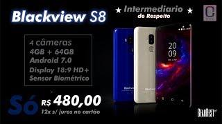 Blackview S8 - Intermediário de Respeito !!! Unboxing Preview
