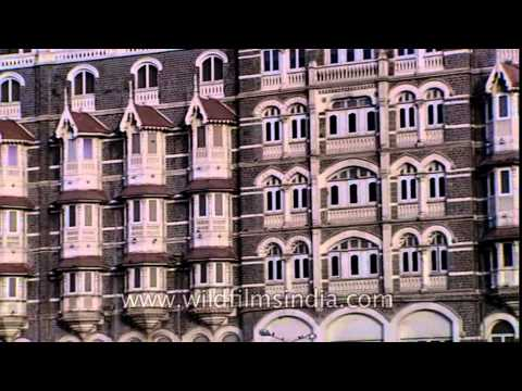 External outlook of The Taj Mahal Palace Hotel