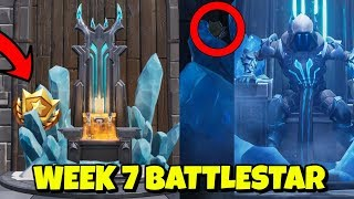 Saison 7 WOCHE 7 Ladebildschirm SECRET BATTLESTAR LOCATION in Fortnite