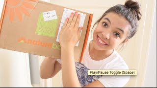 1st NatureBox UNBOXING and TASTE TEST
