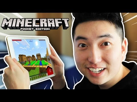 Playing Minecraft: Pocket Edition AFTER 1 YEAR!