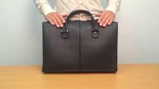 Мужской кожаный портфель от Кожгалантерейной Фабрики