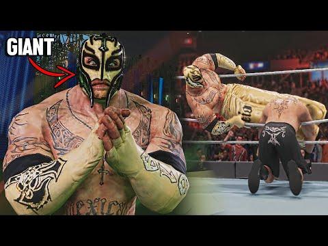 Rey Myestrio ALL STARS MOD! ( WWE Games Mods )