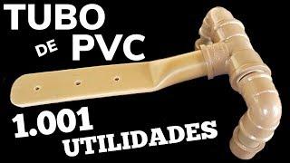 TUBO DE PVC 1001 UTILIDADES, VEJA UMA DELAS, MOSTRAMOS AQUI COMO FAZER UMA DOBRADIÇA DE CANO PVC thumbnail