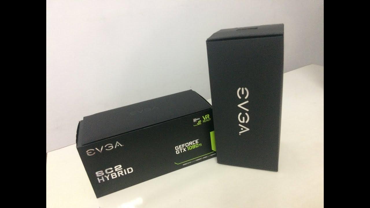 EVGA 1080 Ti SC2 HYBRID - Unboxing