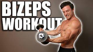 Schnellster Muskelaufbau für den Bizeps | Workout im Hypertrophiebereich