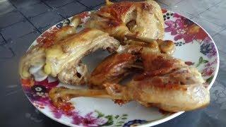 Вкусные сочные куриные бедра... Жареные куриные ножки... Вкуснее, чем у самого Лазерсона...