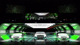 Perodua Axia Projection Mapping Launching 2014