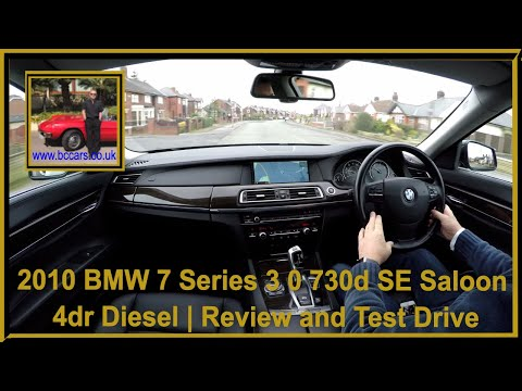 Virtual Video Test Drive in our BMW 7 Series 3 0 730d SE Saloon 4dr Diesel