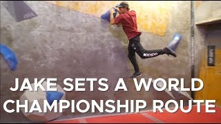 Can Jake set a WORLD CHAMPIONSHIP problem?