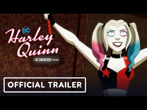 DC Universe's Harley Quinn - Official Trailer (2019) Kaley Cuoco