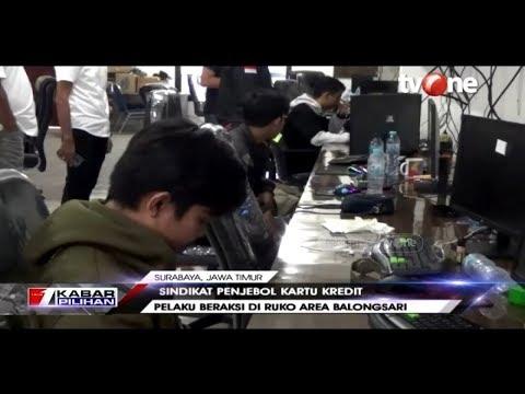 Markas Hacker Penjebol Kartu Kredit di Surabaya Digerebek