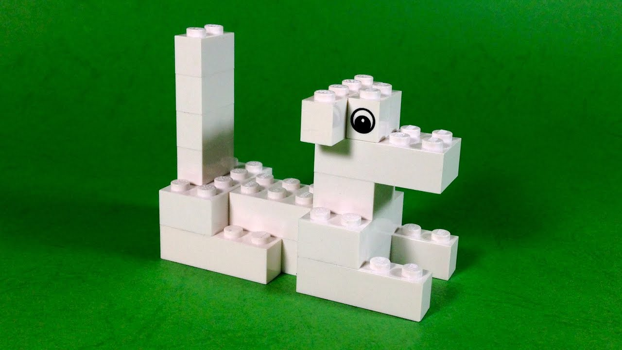 How To Build Lego Lazy Dog 4630 Lego Build Play Box Building