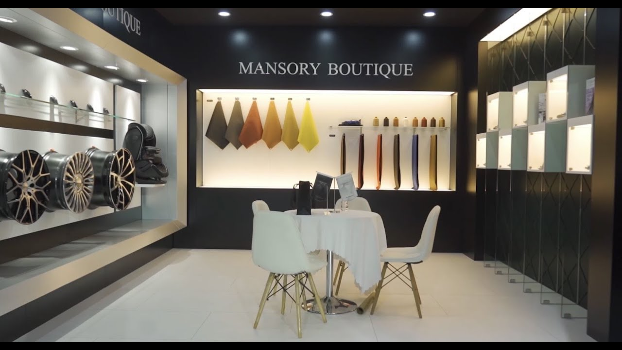 MANSORY Boutique in the Shanghai Motorshow 2021