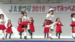 2016年12月4日 JAまつり *キッズダンス高萩パピヨンX'masショー.