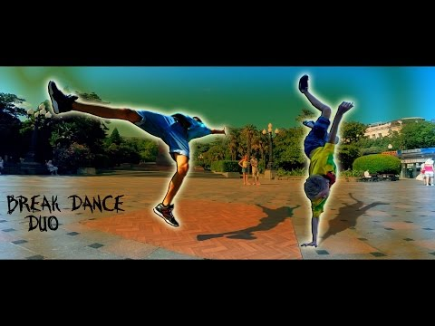 BREAK DANCE DUO Russian Breakdancing Show