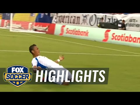 Chavarria nets spectacular goal for Nicaragua against Panama | 2017 CONCACAF Gold Cup Highlights
