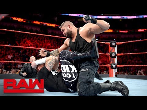 The Authors of Pain debut on Raw against Heath Slater & Rhyno: Raw April 9, 2018