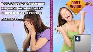 Data Lost or Files deleted by mistake ? | Don't Worry, Use Best data recovery Software | Hindi