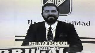 Noticias deportes RD 1990 Bolívar Rondón Mundial de Fútbol Italia 1990 transmitido por RTVD