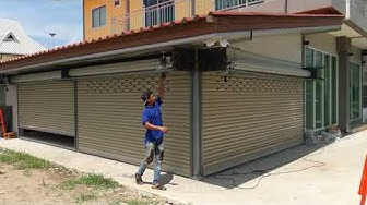 ประตูม้วนไฟฟ้าราคาถูกทั่วประเทศ งานมีรับประกัน