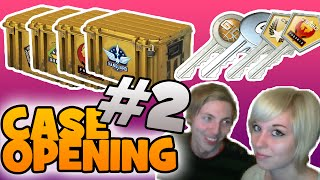 CASE OPENING #2 - BLANDET GUF [DANSK CSGO CASE OPENING]
