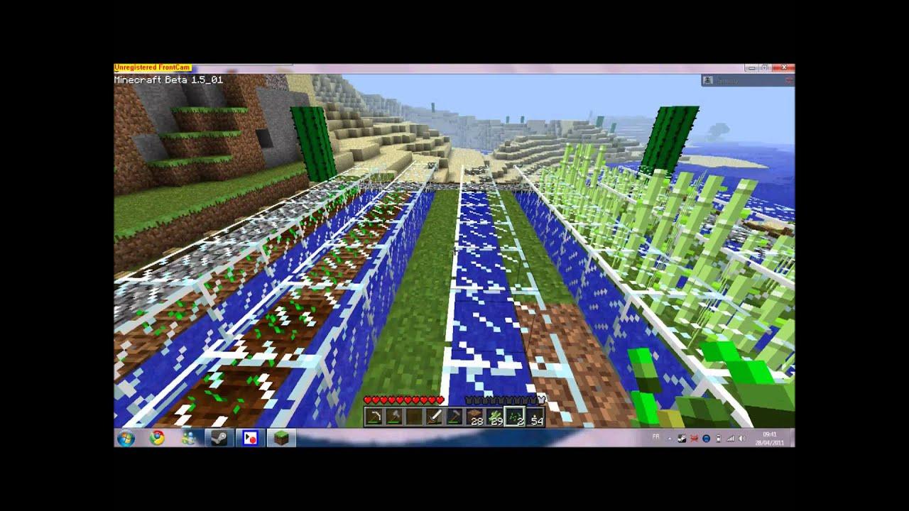 FR Tuto  Comment faire un beau jardin sur Minecraft HD  YouTube