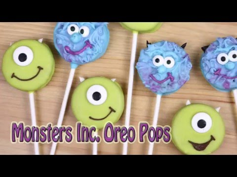 Monsters Inc. Oreo Pops - Pretty Little Bakers