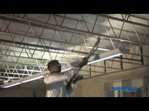 Fireproofing Pump Plaster Spraying Stucco Steel Beam