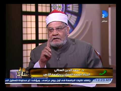 برنامج العاشرة مساء|خناقة ساخنه جدا بين أحمد كريمة وسعد هلالى حول حج رئيس الوزراء!