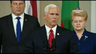 Ամերիկան ձեզ հետ է՝ ԱՄՆ ի փոխնախագահը Վրաստանին եւ բալթյան երկրներին