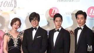 【動画】『Korean Enta 10th Awards』フォトセッション《ペ・ヨンジュン、キム・ヒョンジュン(リダ)、ユン・ウネ、キム・ジェウク、BOYFRIEND、RYU、THE ONE》 ...